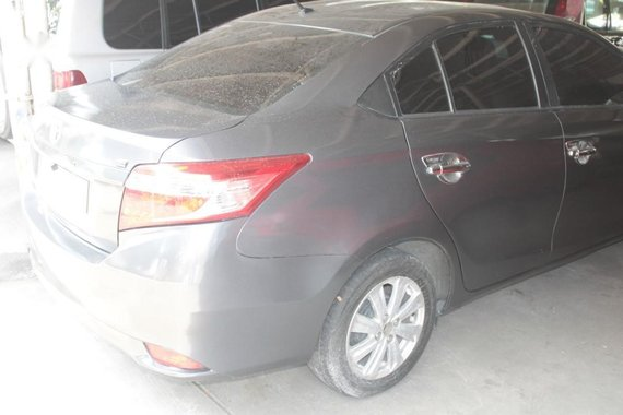 Silver Toyota Vios 2017 for sale in Quezon