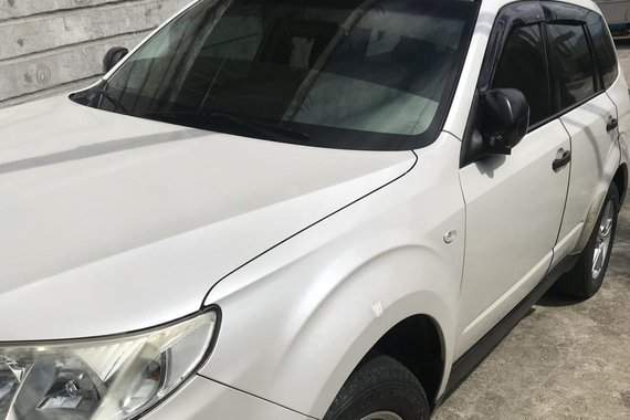 Pearlwhite 2010 Subaru Forester Wagon Second Hand for sale