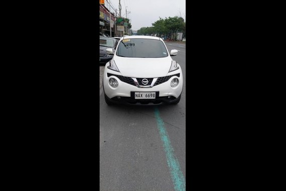 White Nissan Juke 2018 for sale in Quezon