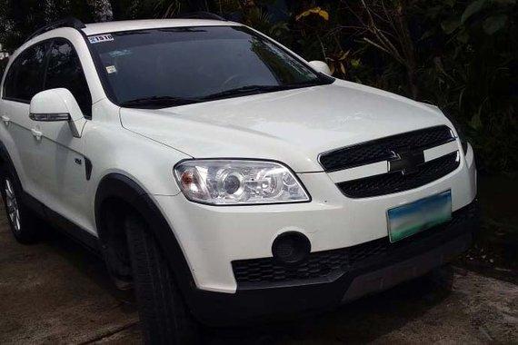 White 2010 Chevrolet Captiva SUV / Crossover for sale