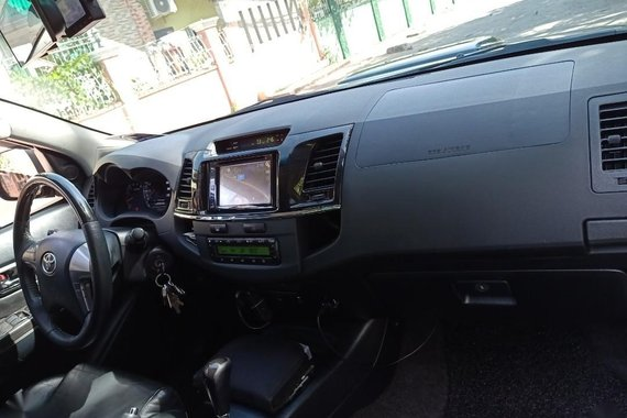 Black Toyota Fortuner 2015 for sale in Apalit