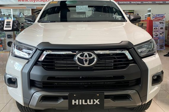 AVAIL OUR PROMO NOW! Brand New 2021 Toyota Hilux 2.4 G DSL 4x2 M/T for as low as 67K DP ONLY!