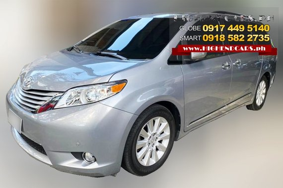 2016 Toyota Sienna Limited Edition, Top Model, 3.5L V6 Gas, 8 speed automatic, 28t Kms