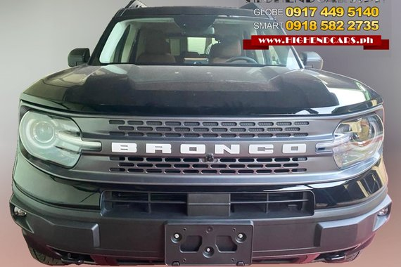 2021 FORD BRONCO SPORTS BADLANDS, brand new, 2.0L Gas, 8 speed automatic, Ready stock