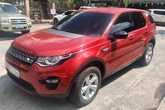2018 Aquired Land Rover Discovery 2.0 Sport Si4 SE 5-Seats (2016 Model)