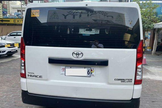 2019 Toyota Hiace Commuter Deluxe 2.8MT