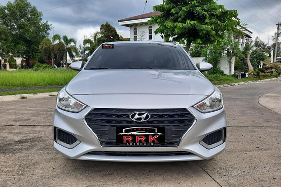 Selling Silver 2020 Hyundai Accent  1.4 GL 6AT