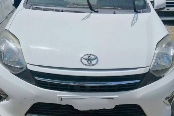 Selling White 2017 Toyota Wigo Hatchback by verified seller