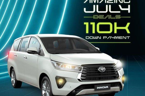 AMAZING JULY DEALS! Toyota Innova 2021