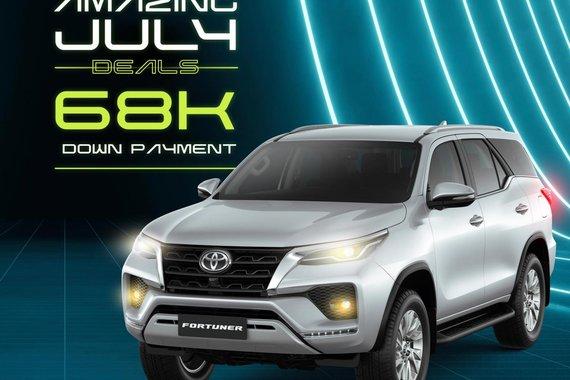 AMAZING JULY DEALS! Toyota Fortuner 2021