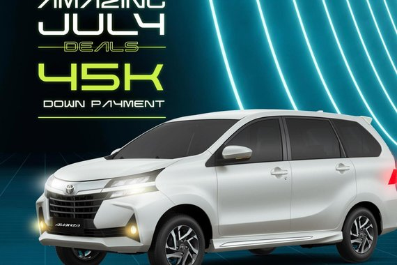 AMAZING JULY DEALS! Toyota Avanza 2021