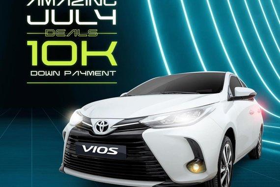 AMAZING JULY DEALS! Toyota Vios 2021