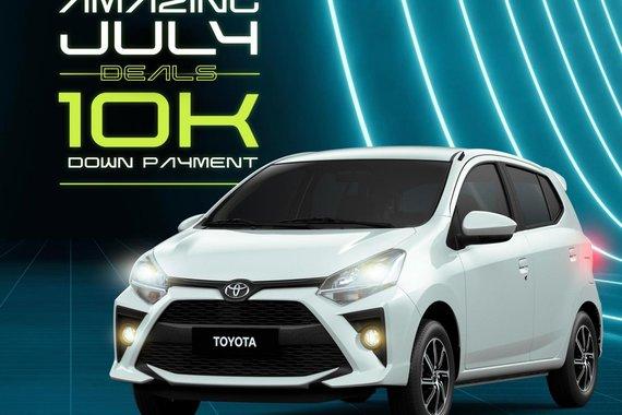 AMAZING JULY DEALS! Toyota Wigo 2021