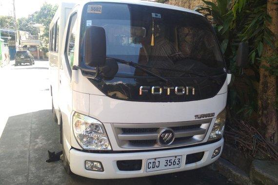 Pre-owned White 2016 Foton Tornado for sale