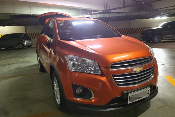 Orange 2016 Chevrolet Trax SUV / Crossover for sale