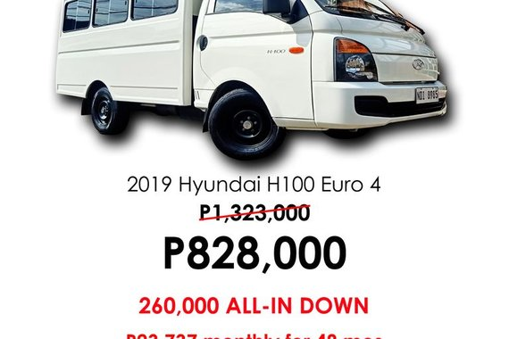 Pre-owned 2019 Hyundai H-100 2.5 CRDi GL Cab & Chassis (w/ AC) for sale