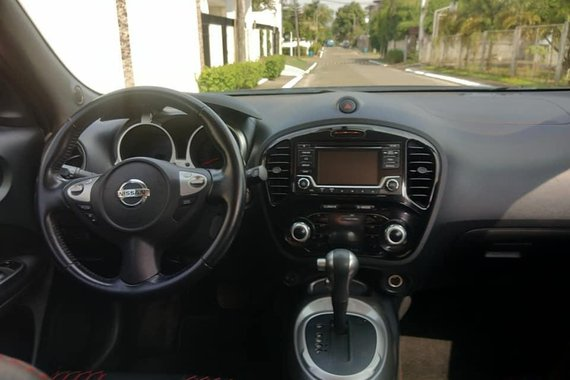 Black Nissan Juke 2016 for sale in Quezon