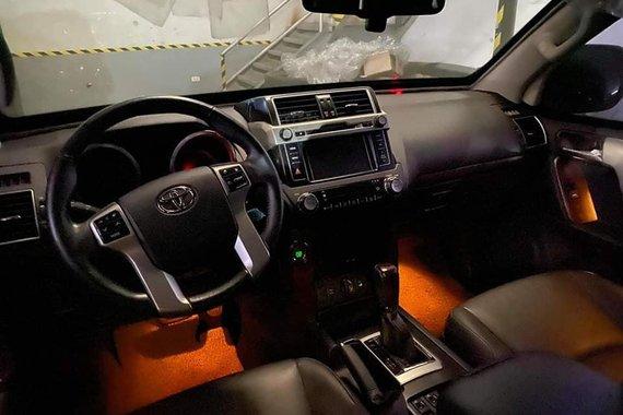 Green Toyota Land Cruiser Prado 2015 for sale in Quezon