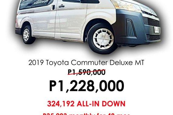 2019 Toyota Commuter Deluxe