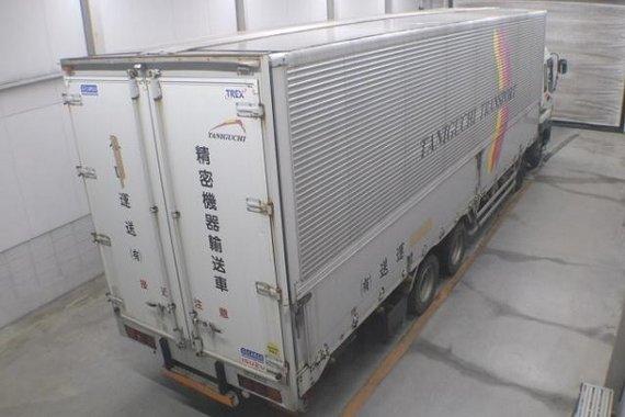 ISUZU GIGAMAX Aluminum Wing Van 12 Wheeler