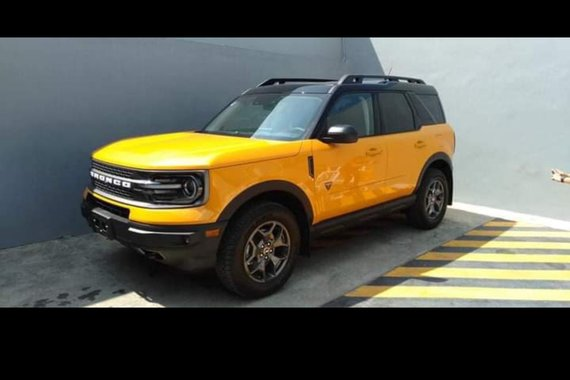 Brand new 2021 Ford Bronco Badlands 4X4
