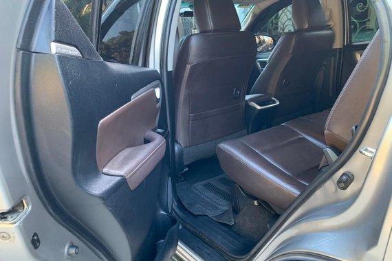 Selling Brightsilver Toyota Fortuner 2017 in Tanza