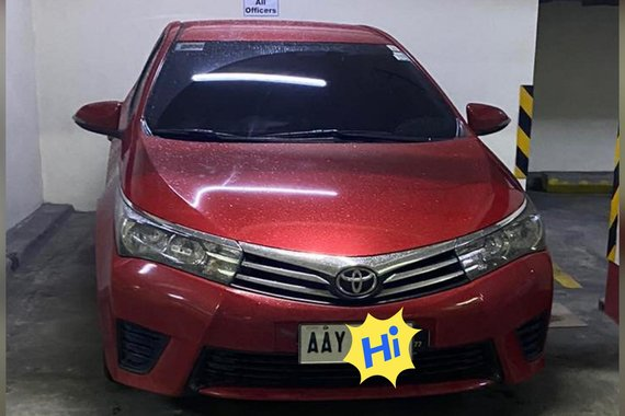 HOT!!! 2014 Toyota Altis  for sale at affordable price