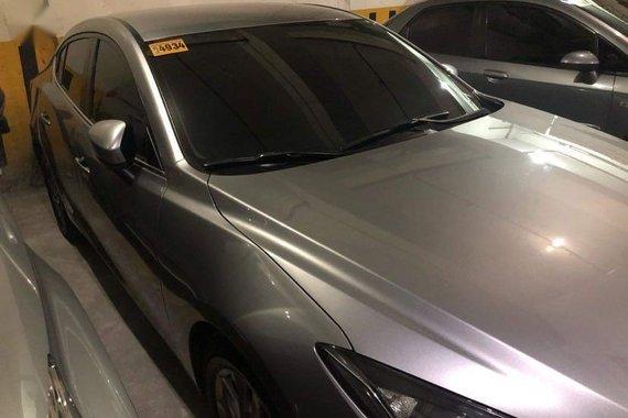 Silver Mazda 3 2015 for sale in Manila