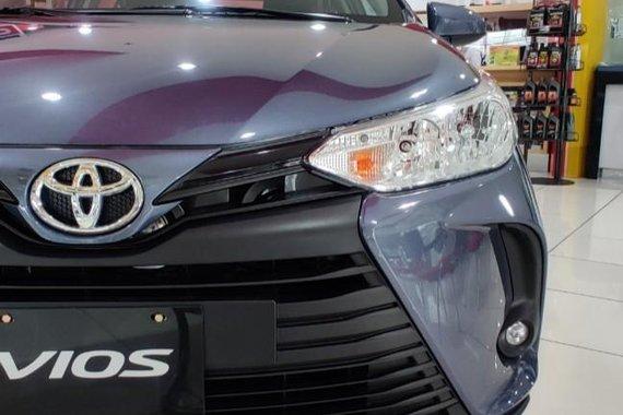Blue Toyota Vios 2021 for sale in Manila