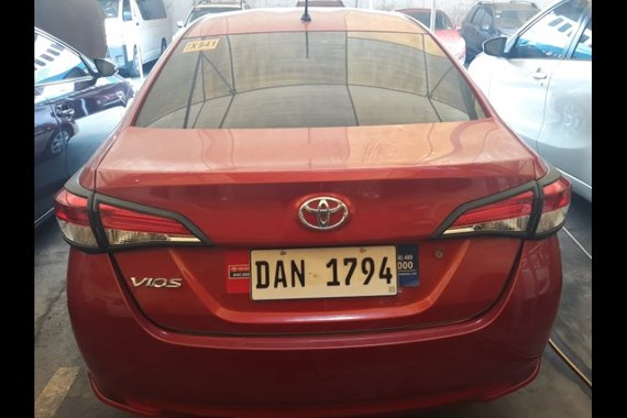 Selling Red Toyota Vios 2019 in Caloocan