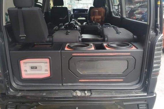 Black Toyota Hiace 2017 for sale in Manila