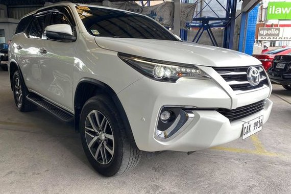 2018 Toyota Fortuner V Diesel Automatic