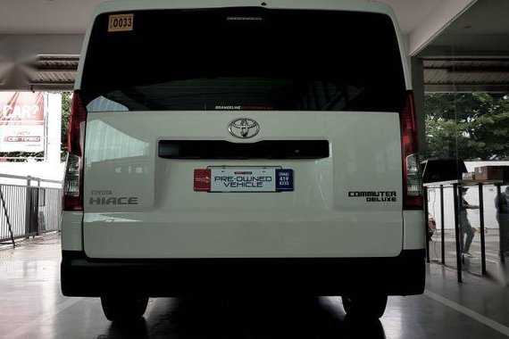 Selling White Toyota Hiace 2020 in Las Piñas