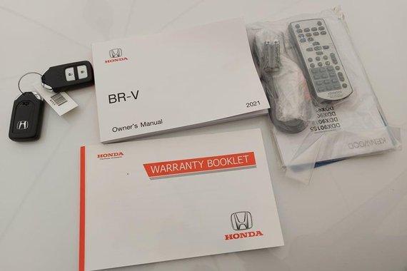 Selling White Honda BR-V 2021 in Cainta