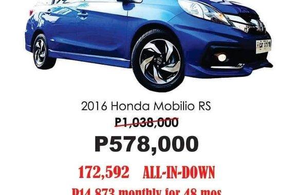 2016 HONDA MOBILIO RS Automatic