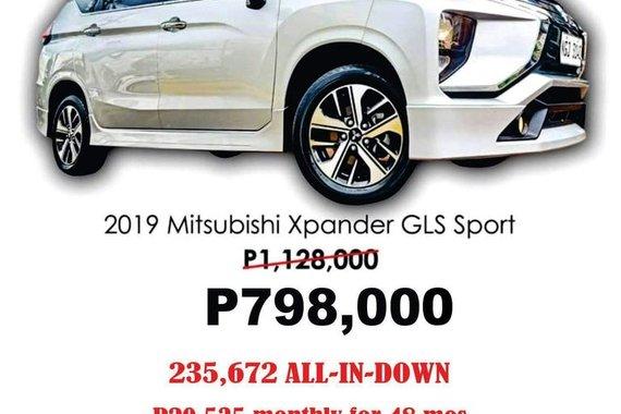 2019 MITSUBISHI XPANDER GLS SPORT