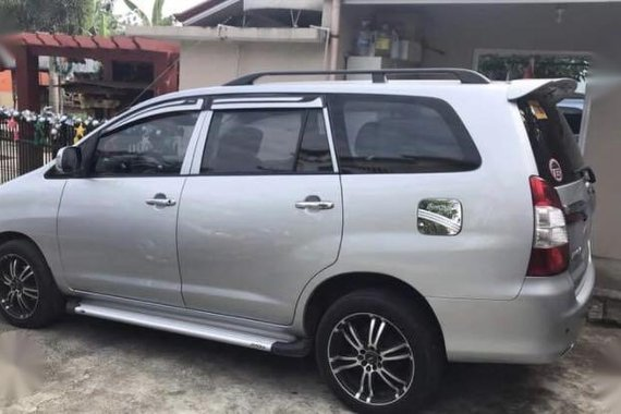 Brightsilver Toyota Innova 2015 for sale in San Juan