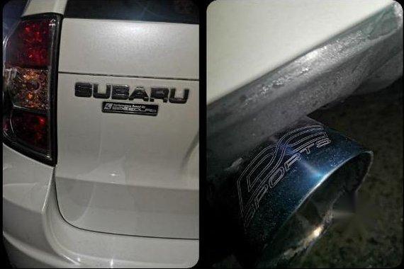 Pearl White Subaru Forester 2009 for sale in San Jose del Monte