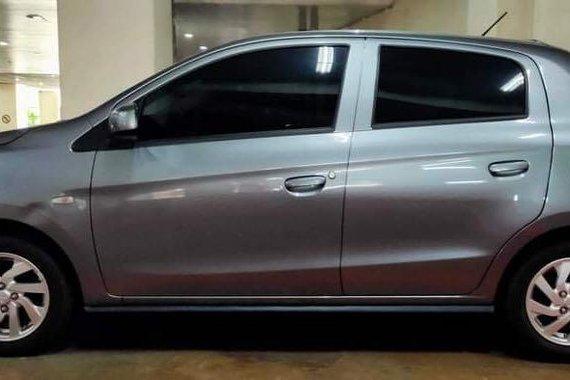 Selling Silver Mitsubishi Mirage 2016 in Mandaluyong