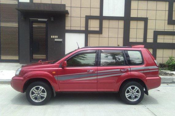 2007MDL NISSAN X-TRAIL 200X A/T RED