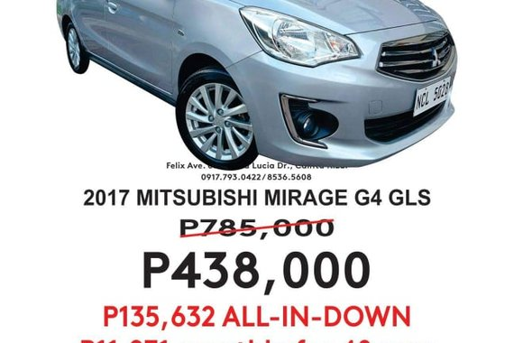 2017 MITSUBISHI MIRAGE G4 GLS