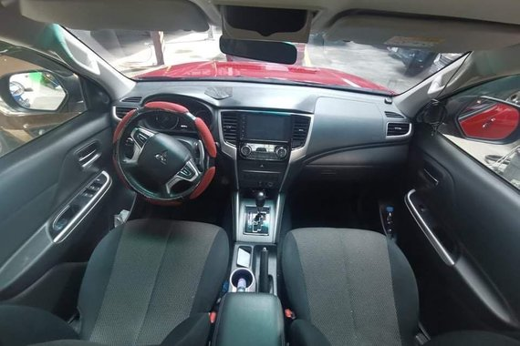 Red Mitsubishi Strada 2019 for sale in Quezon