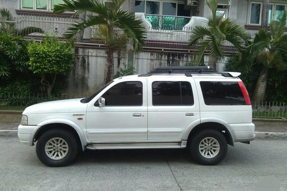 2005MDL FORD EVEREST A/T TURBO INTER COLLER