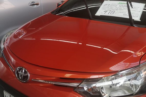 Sell Red Toyota Vios 2017 in Quezon City