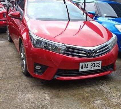 Selling Toyota Altis 2015 in Quezon City
