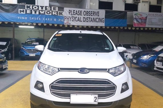 2017 Ford Ecosports Trend a/t 33k mileage