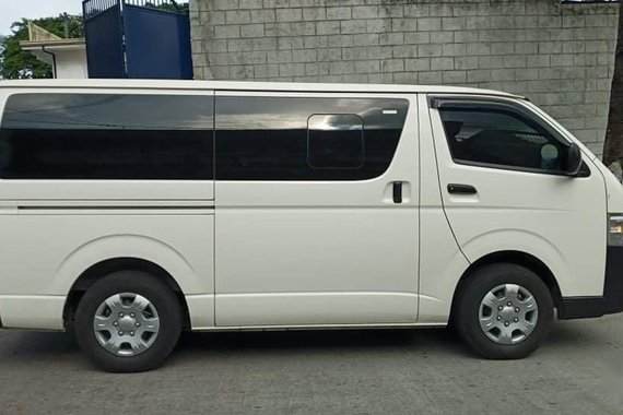 White Toyota  2020 Hiace for sale in Quezon City
