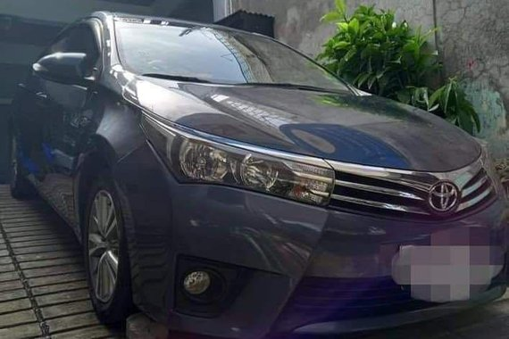 Selling Blue Toyota Corolla Altis 2016 in Pateros