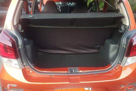 Orange Toyota Wigo 2020 for sale in Automatic