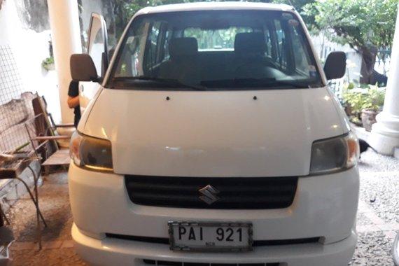 Pre-owned White 2010 Suzuki APV  for sale
